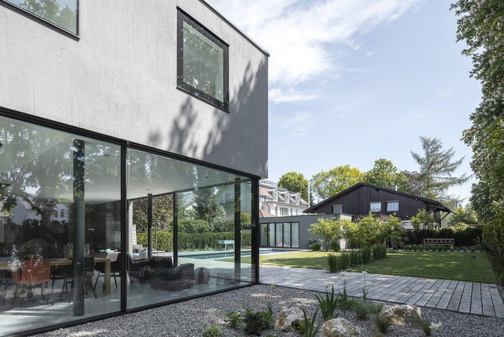 Sky-Frame Verglasung Garten