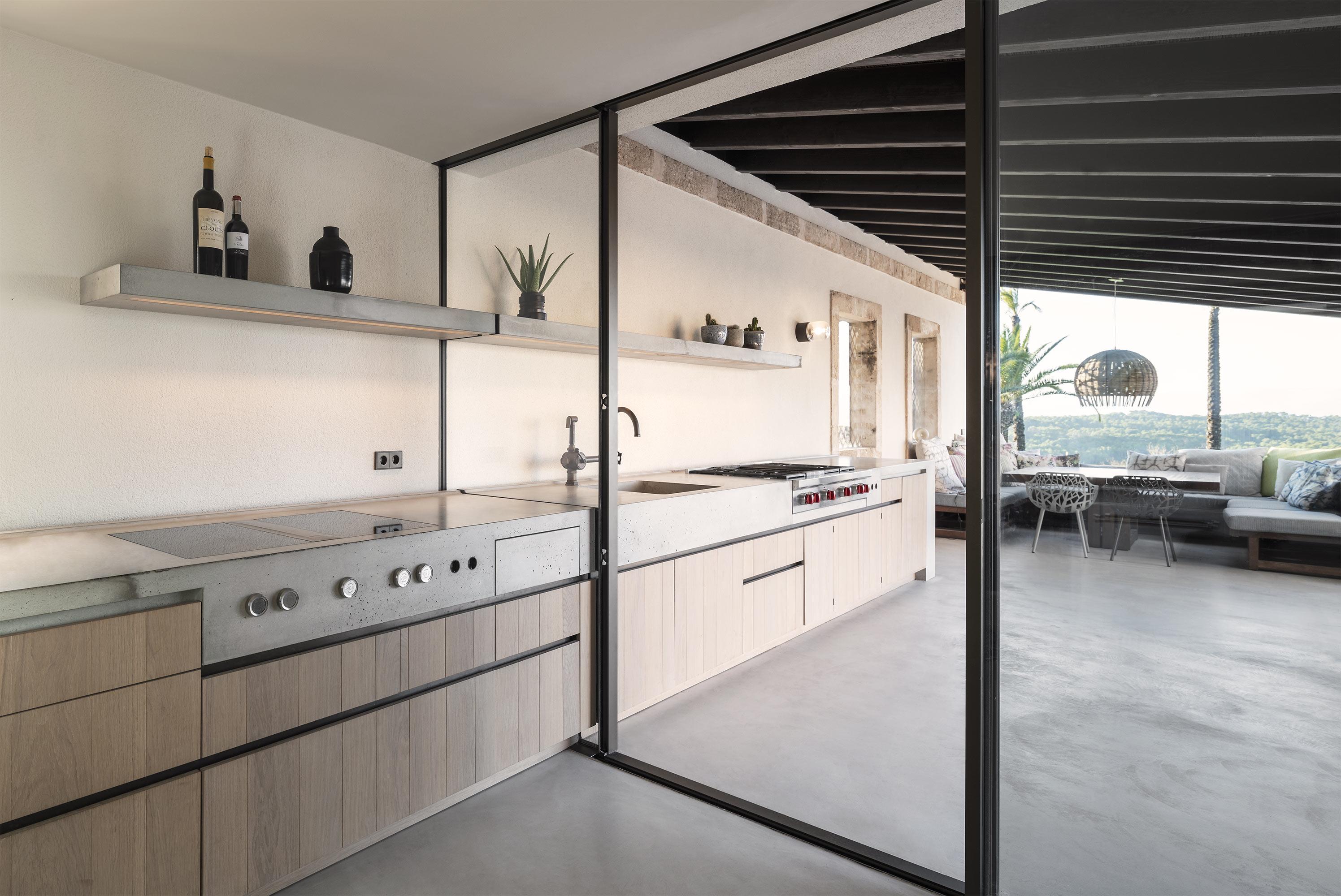 Sky-Frame Fenster in der Küche